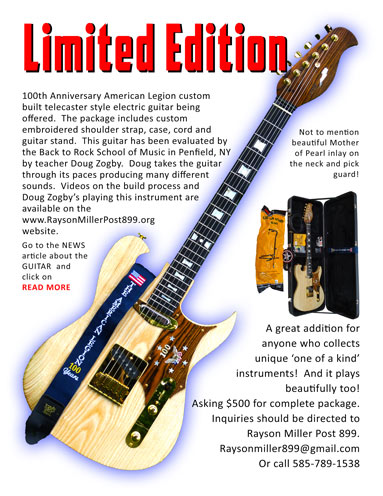 Guitar Sales Flyer